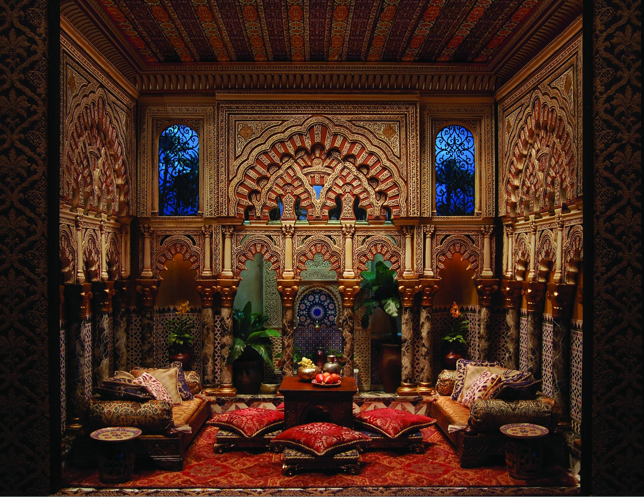 Madinat al Zahra - $5,300.00 : Ron Hubble, Miniature Room Boxes